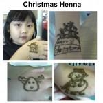 Christmas Henna